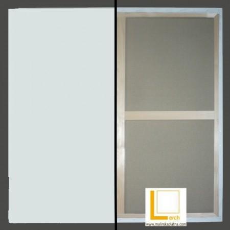 100 x 130 cm 2x příčka, malířské plátno 100% len