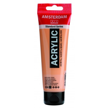 AMSTERDAM acr napl. yel.red 120 ml