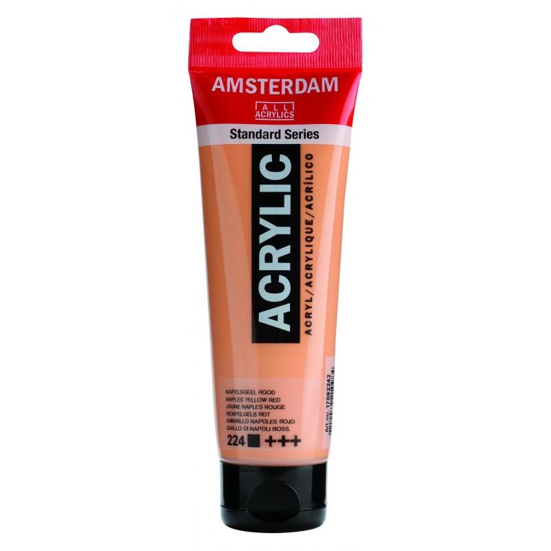 AMSTERDAM acr napl. yel.red 120 ml
