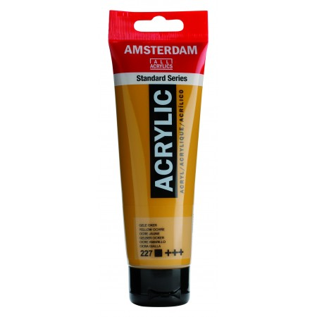 AMSTERDAM acr yellow ochre 120 ml