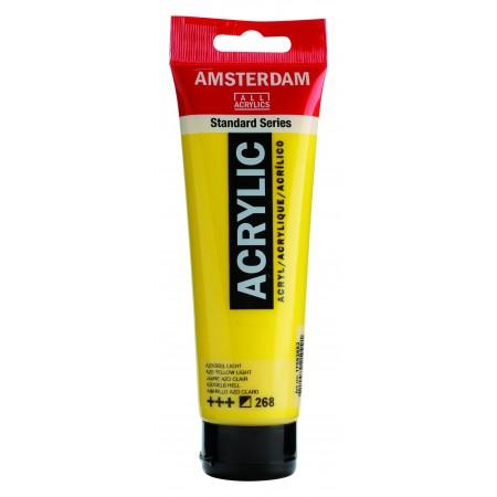 AMSTERDAM acr azo yel. light 120 ml