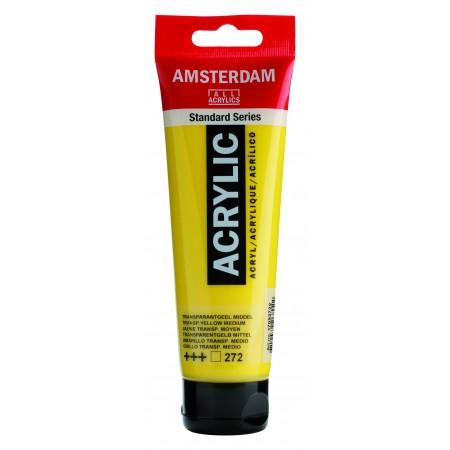 AMSTERDAM acr transp.yel.med. 120 ml