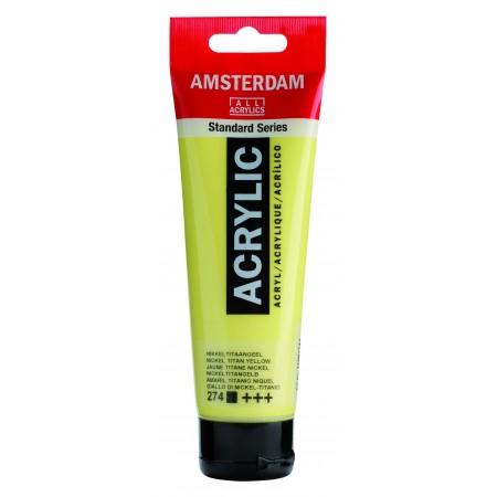 AMSTERDAM acr nickel tit.ylw 120 ml