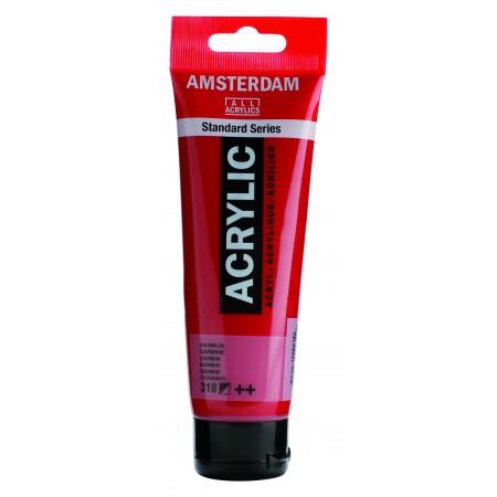 AMSTERDAM acr carmine 120 ml