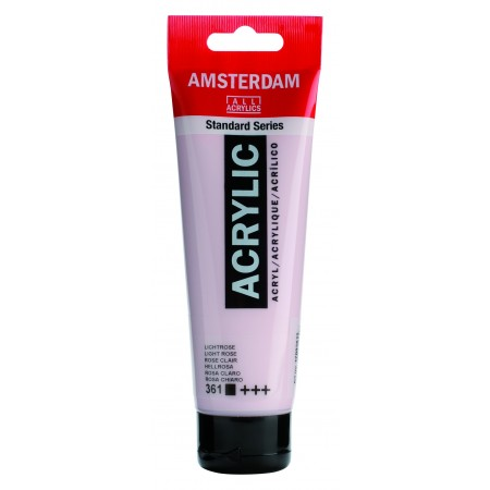 AMSTERDAM acr light rose 120 ml