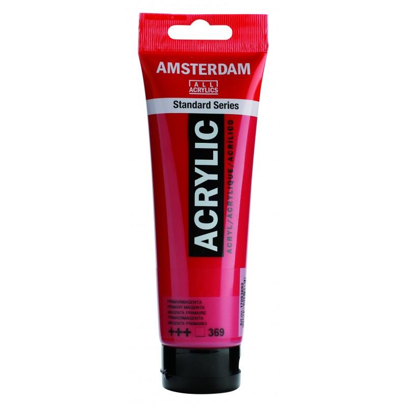 AMSTERDAM acr prim.magenta 120 ml