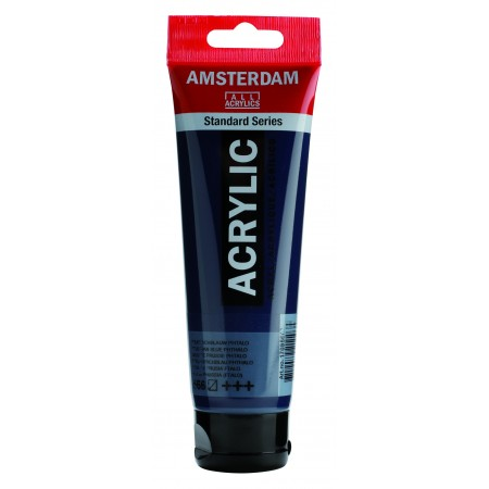 AMSTERDAM acr prus.blue phth.120 ml