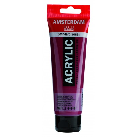 AMSTERDAM acr perm.red.violet 120 ml