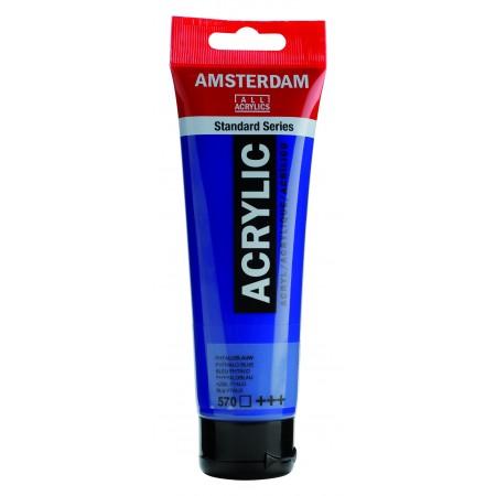 AMSTERDAM acr phthalo blue 120 ml