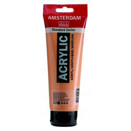 AMSTERDAM acr napl. yel.red 250 ml