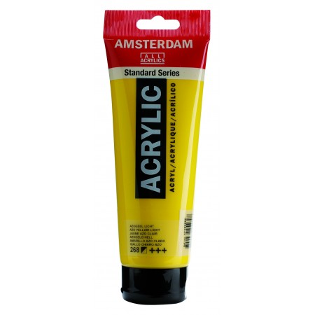 AMSTERDAM acr azo yel. light 250 ml
