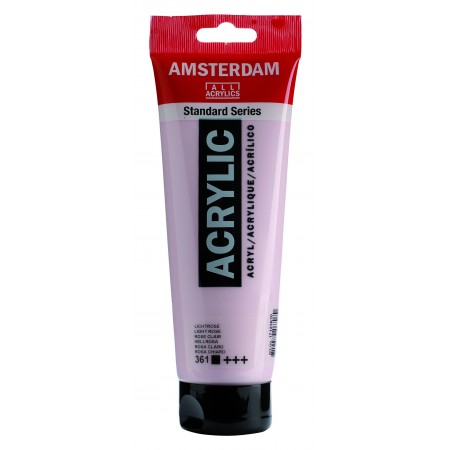 AMSTERDAM acr light rose 250 ml