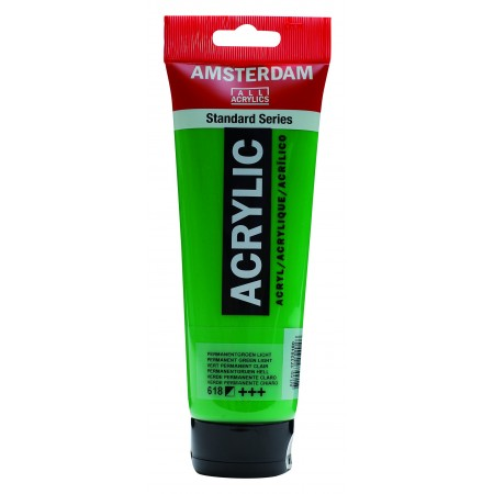 AMSTERDAM acr perm.green.lght250 ml