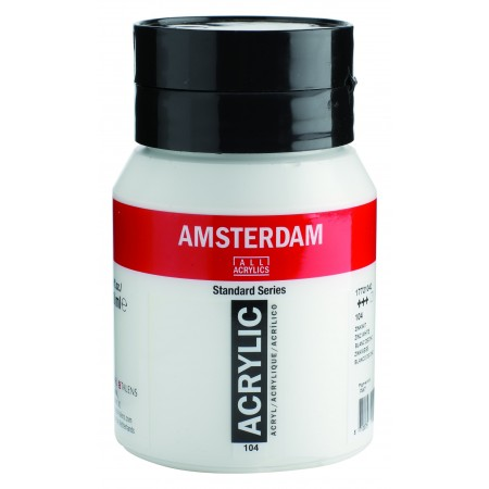 AMSTERDAM acr zinc white 500 ml