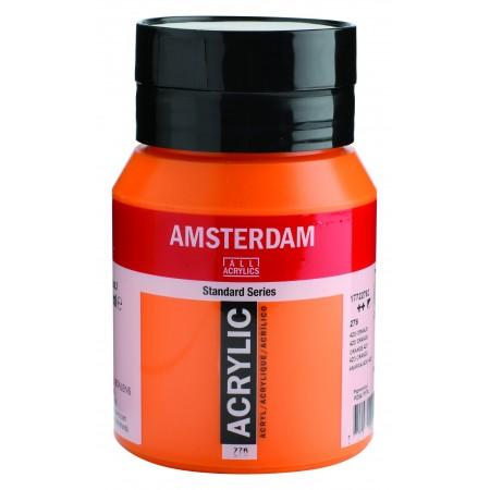 AMSTERDAM acr azo orange 500 ml