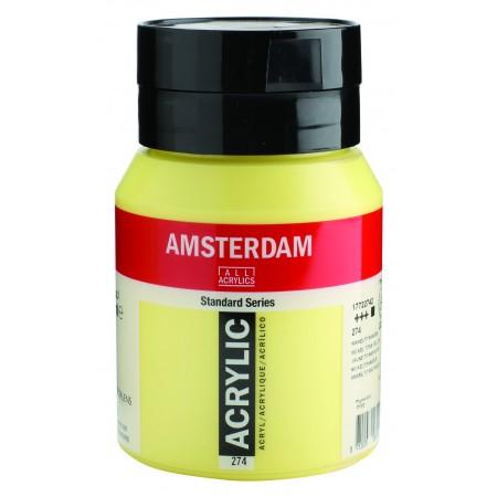 AMSTERDAM acr nickel tit.ylw 500 ml