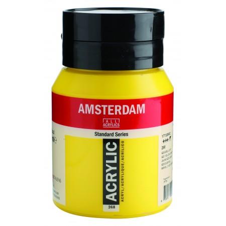 AMSTERDAM acr azo yel. light 500 ml