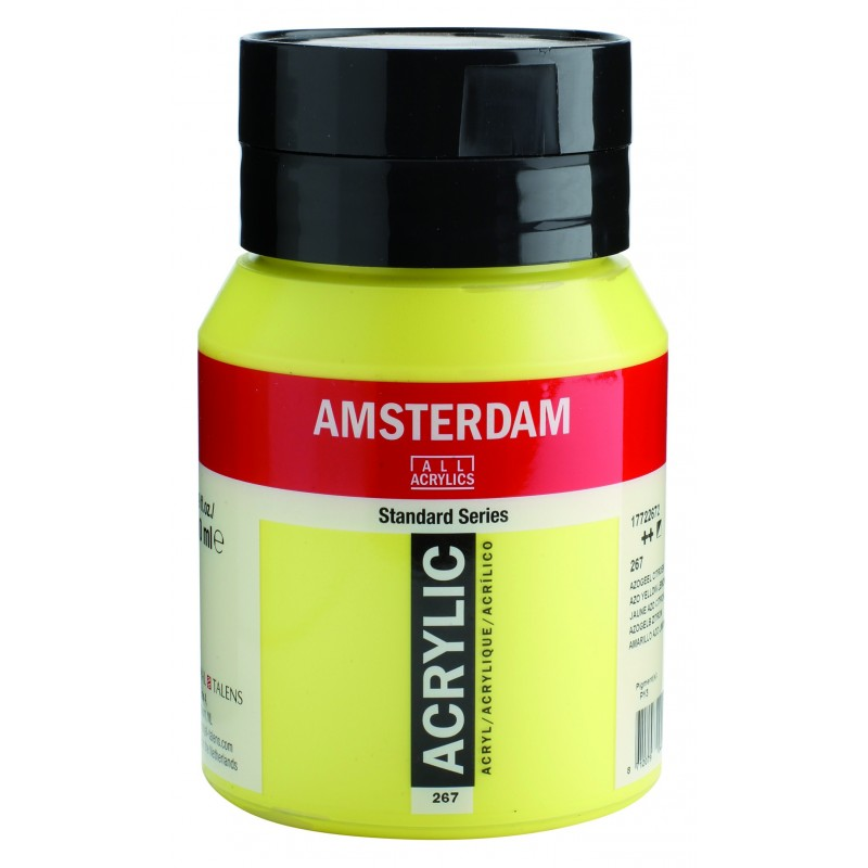 AMSTERDAM acr azo yel.lemon 500 ml