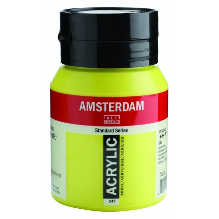 AMSTERDAM acr greenish yellow 500 ml