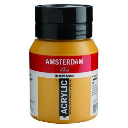 AMSTERDAM acr yellow ochre 500 ml