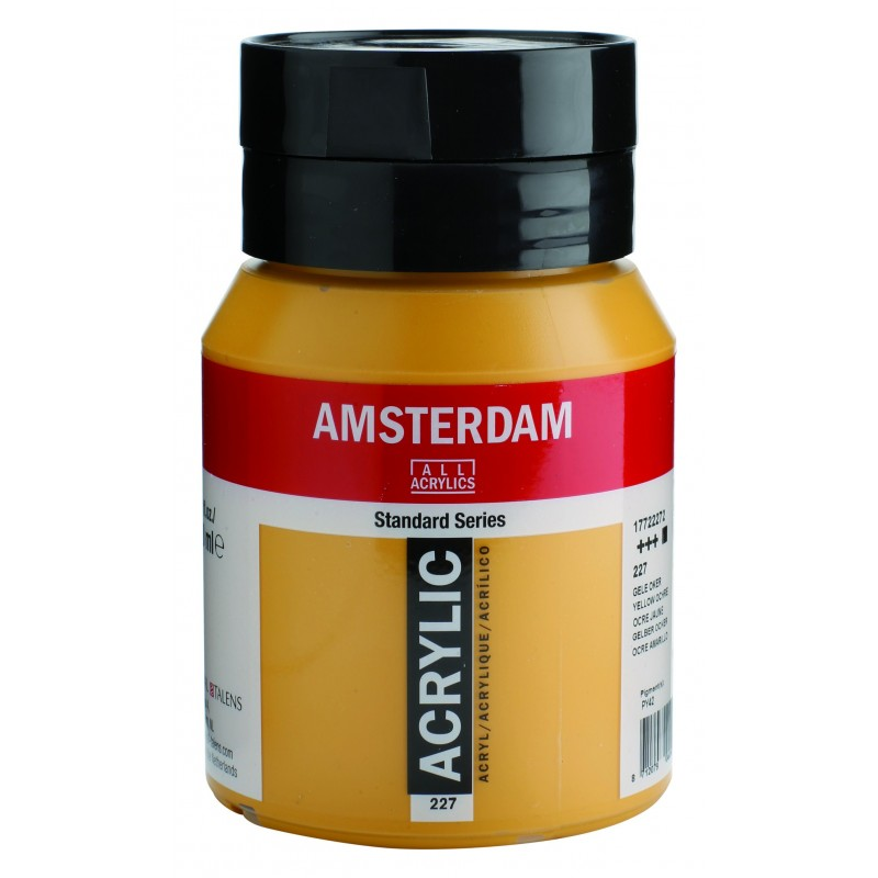 AMSTERDAM acr yellow ochre 500 ml