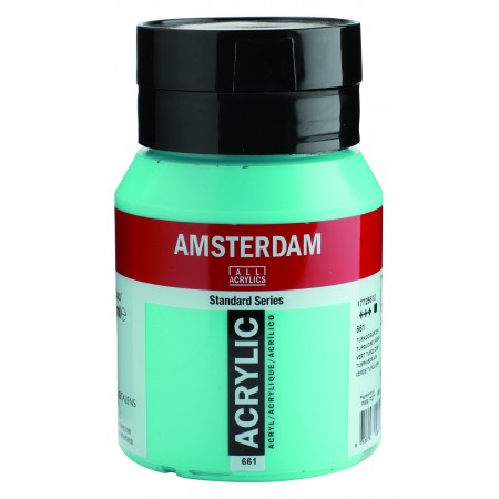 AMSTERDAM acr tuquoise green 500 ml.