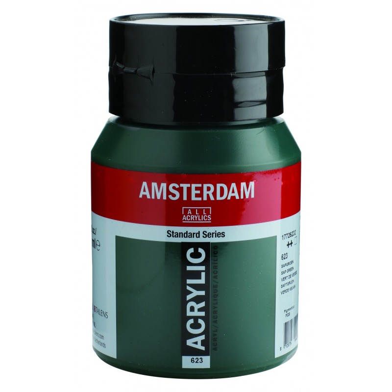 AMSTERDAM acr sap green 500 ml