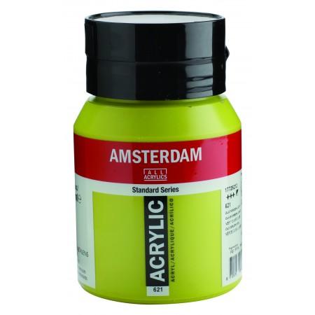 AMSTERDAM acr olive green lt. 500 ml