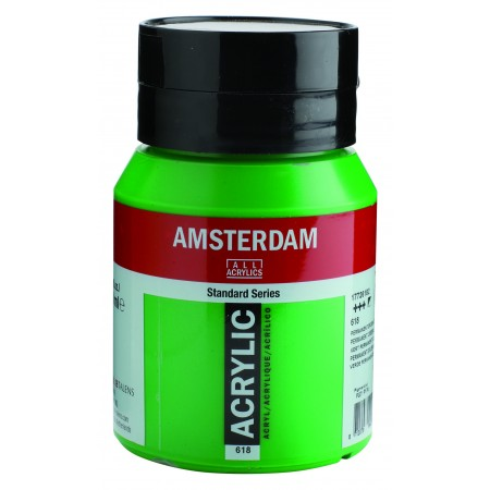 AMSTERDAM acr perm.green.lght500 ml