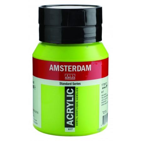 AMSTERDAM acr yellow.green 500 ml