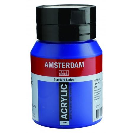 AMSTERDAM acr phthalo blue 500 ml