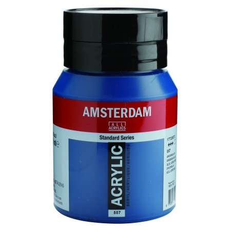 AMSTERDAM acr greenish blue 500 ml
