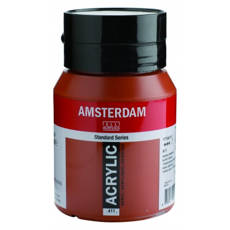 AMSTERDAM acr burnt sienna 500 ml