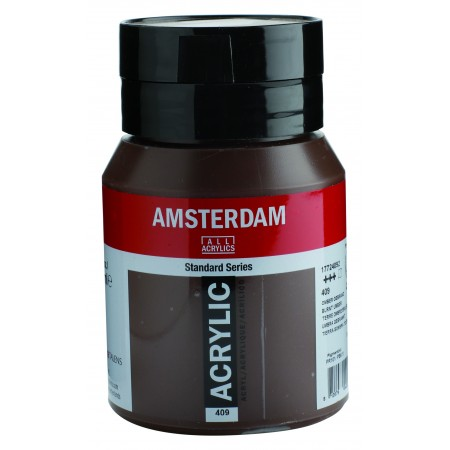 AMSTERDAM acr burnt umber 500 ml