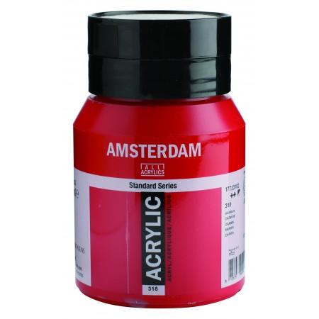 AMSTERDAM acr carmine 500 ml