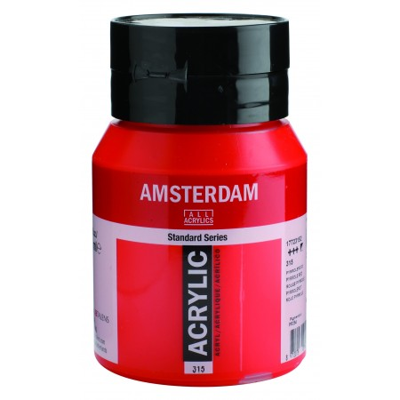 AMSTERDAM acr pyrrole red 500 ml
