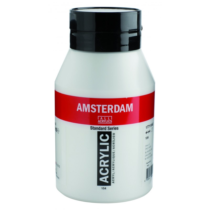 AMSTERDAM acr zinc white 1000 ml
