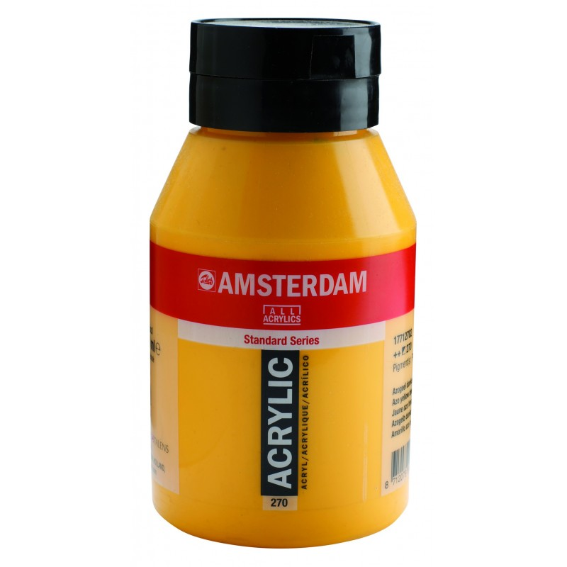 AMSTERDAM acr azo yel. deep 1000 ml