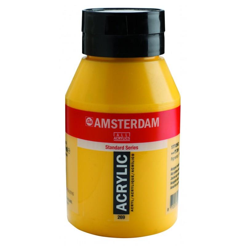 AMSTERDAM acr azo yellow med. 1000 ml