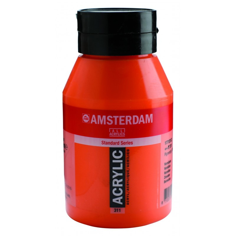 AMSTERDAM acr vermilion 1000 ml