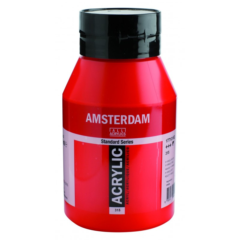AMSTERDAM acr pyrrole red 1000 ml