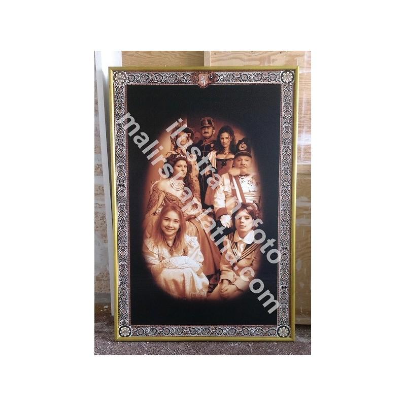 Tisk na plátně do 200 x 300 cm