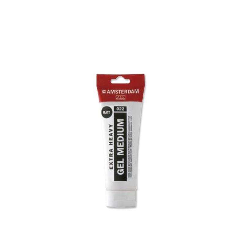AMSTERDAM acryl extra heavy gel mat 250 ml