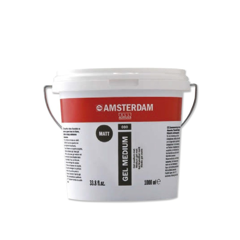 AMSTERDAM acryl str.heavy gel mat 1000 ml