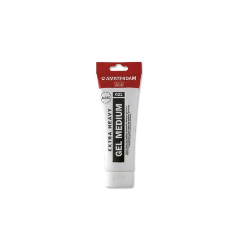 AMSTERDAM acryl extra heavy gel lesk 250 ml