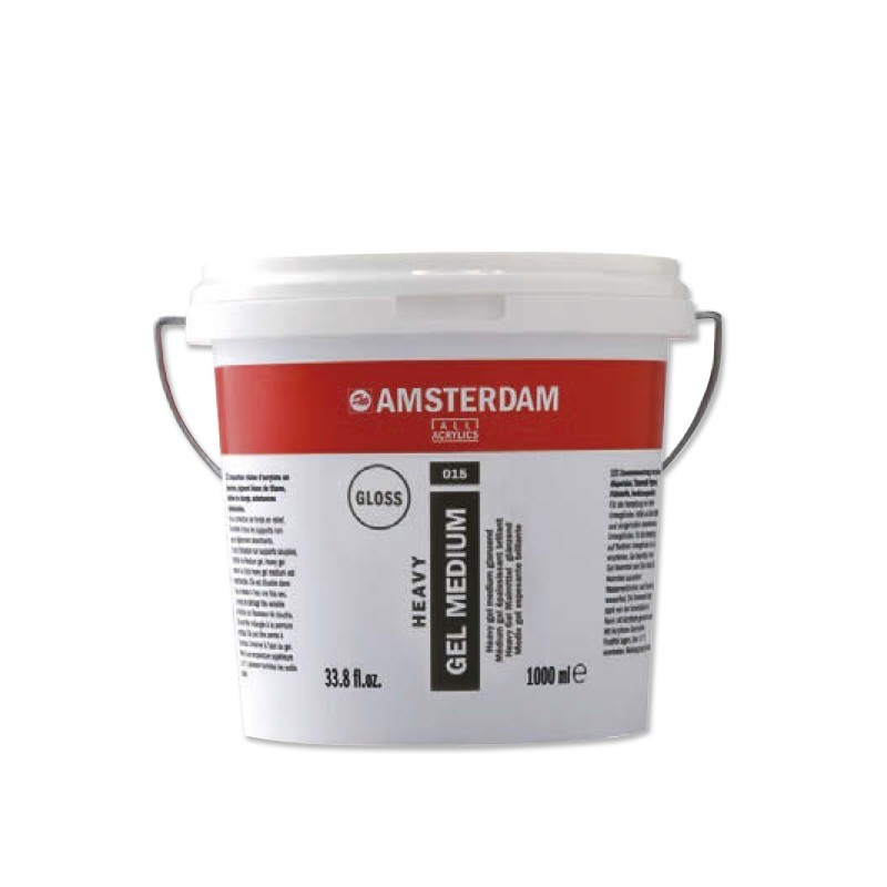 AMSTERDAM acryl heavy gel lesk 1000 ml