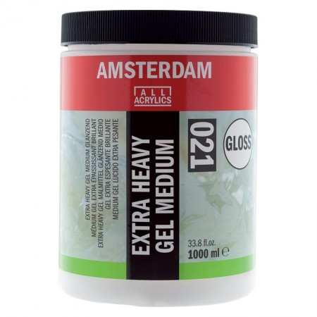 AMSTERDAM acryl exta heavy gel medium lesk 1000 ml