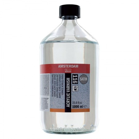 AMSTERDAM acrylic varnish - lak polomat 1000 ml