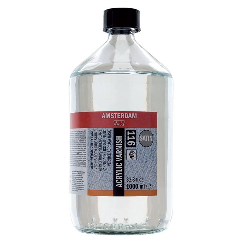 AMSTERDAM acrylic varnish - lak polomat 1000 ml