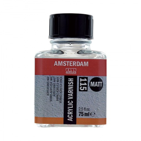 AMSTERDAM acrylic varnish - lak matný 75 ml